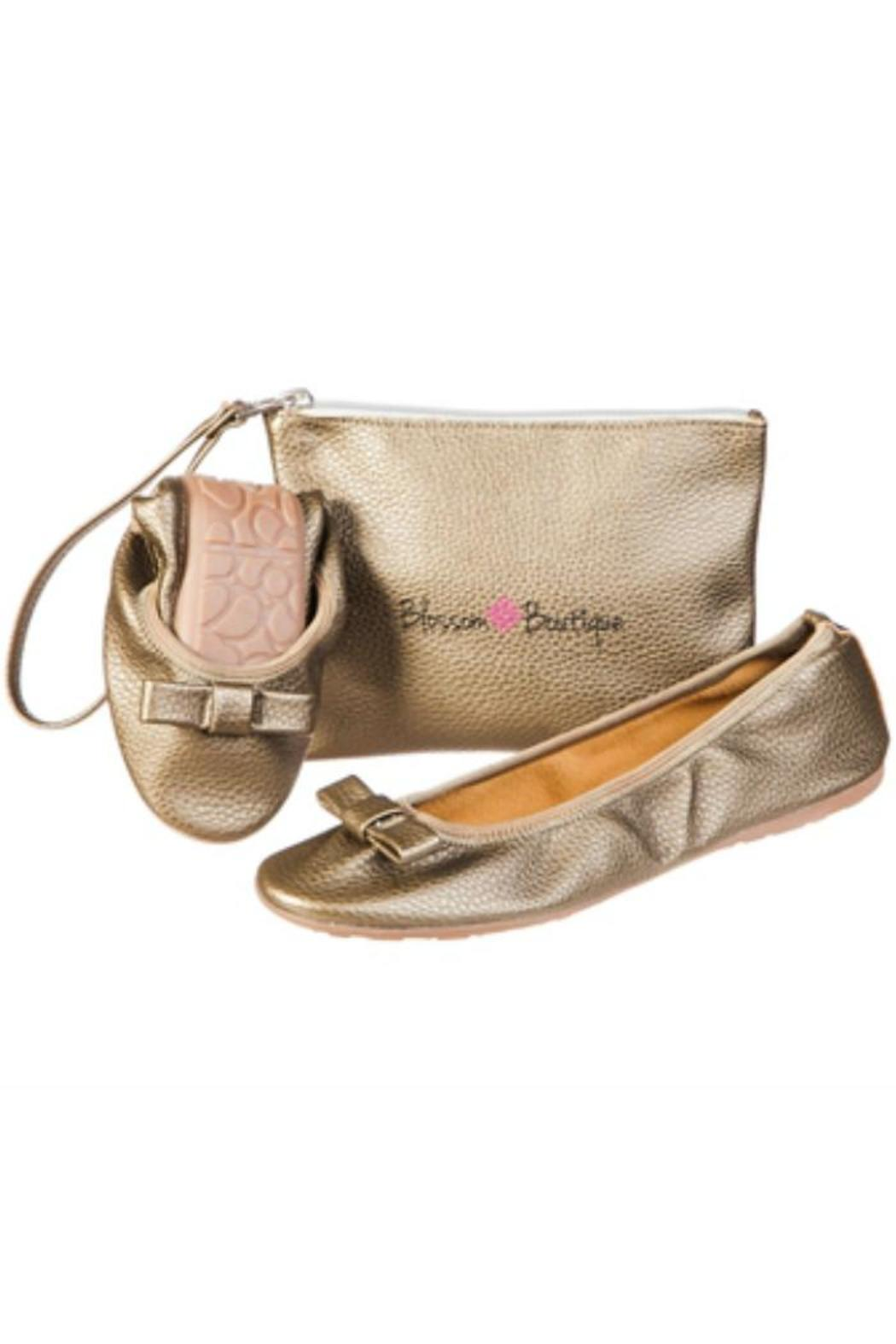Blossom Boutique Foldable Ballet Flats Front Cropped Image