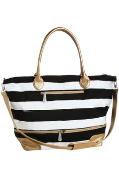 Blossom Boutique Striped Tote Bag - Product List Image