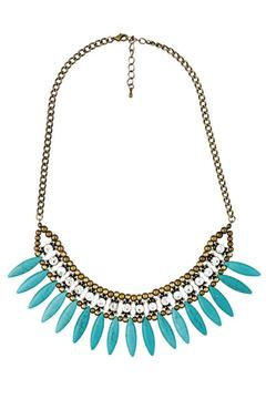 Blossom Boutique Turquoise Collar Necklace - Alternate List Image