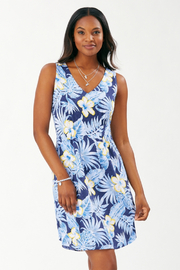 Tommy Bahama Blossoms Sleeveless Knit Dress - Product Mini Image