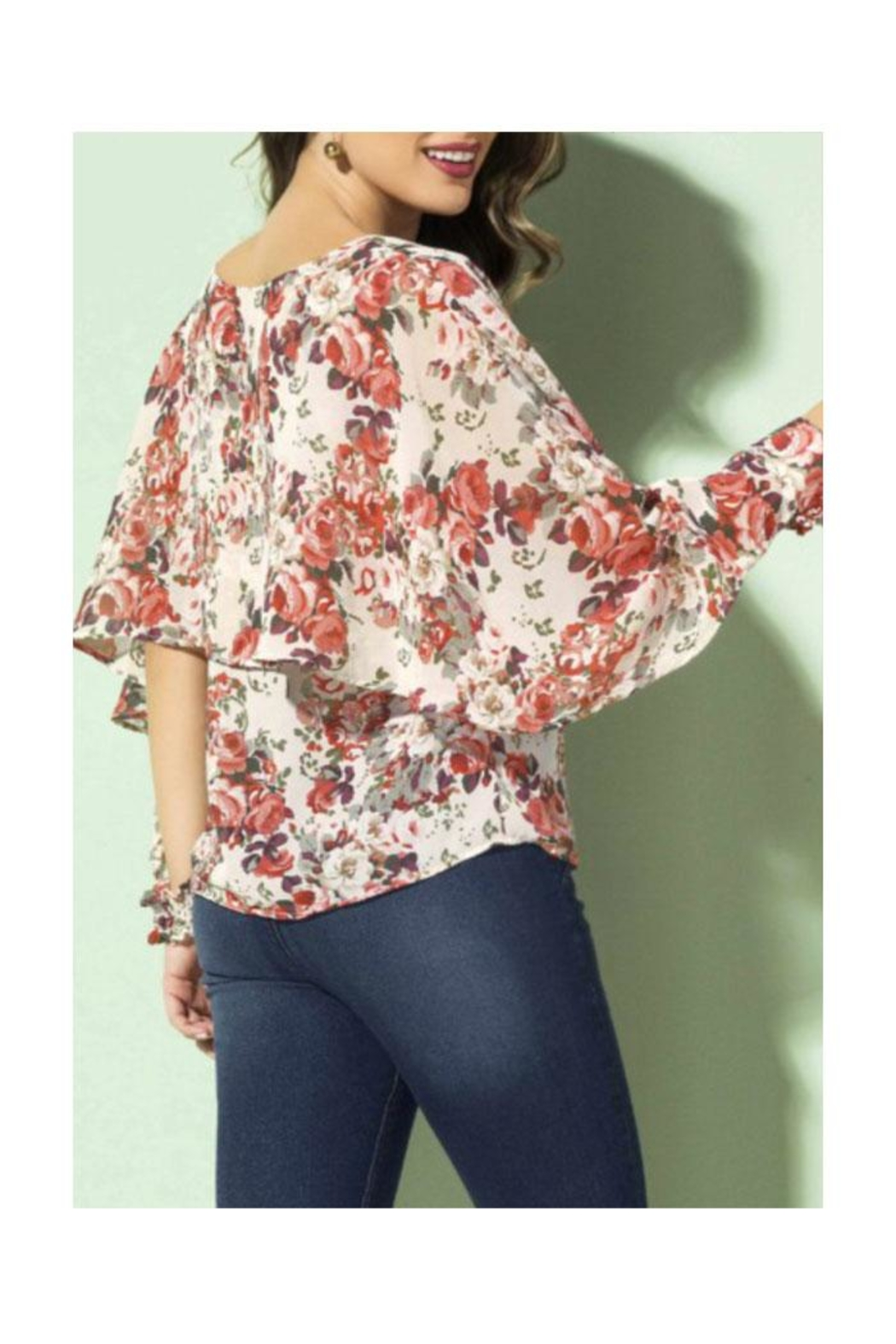 Andrea Blouse - Side Cropped Image