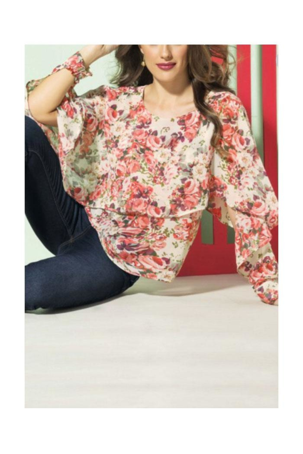 Andrea Blouse - Front Full Image