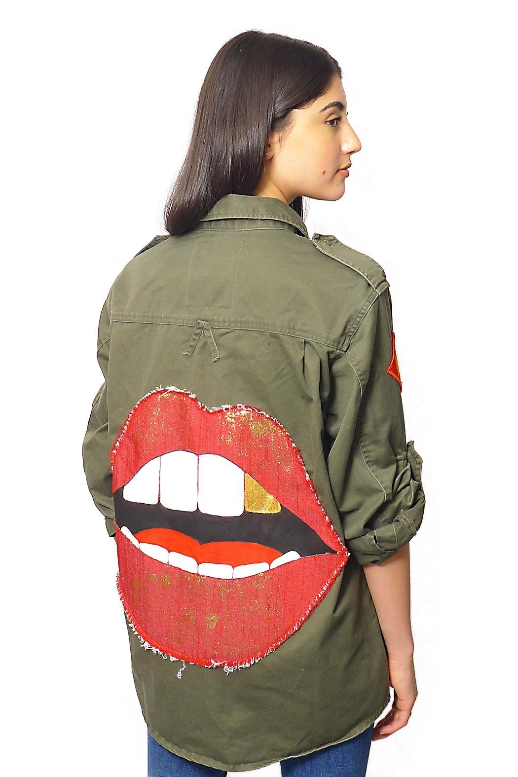 Gypsetters Blouse Lips - Front Full Image