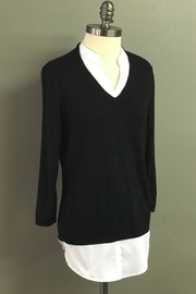 Charlie B. Blouse/sweater Combo - Front cropped