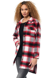 Gypsetters Blouse Tartan - Front cropped
