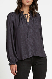 Current Air  Blouse with Zebra Detail Blouse - Product Mini Image