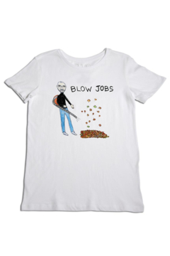 Unfortunate Portrait Blow Jobs Tee - Alternate List Image