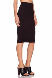 BLQ Basiq Black Pencil Skirt - Front cropped
