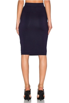 BLQ Basiq Navy Pencil Skirt - Alternate List Image