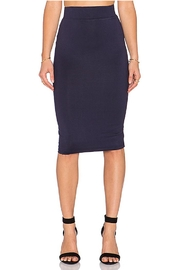 BLQ Basiq Navy Pencil Skirt - Product Mini Image