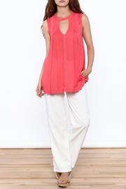 Blu Pepper Coral Sleeveless Top - Side cropped