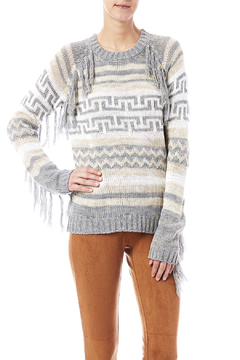 Shoptiques Product: Fringe Aztec Sweater