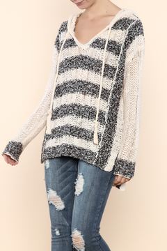 Shoptiques Product: Knit Hooded Sweater