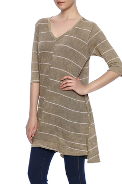 Shoptiques Product: Striped Tunic Tee