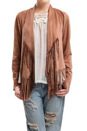 Blu Pepper Amber Fringe Jacket - Product Mini Image