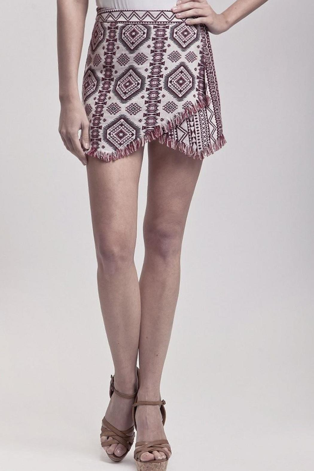 Blu Pepper Aztec Print Skort from California by Maple Boutique ...