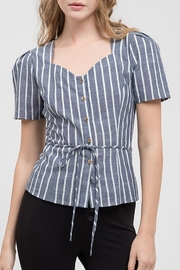 Blu Pepper Blank Space Top - Front cropped