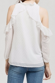 Blu Pepper Blossom Blouse - Front full body