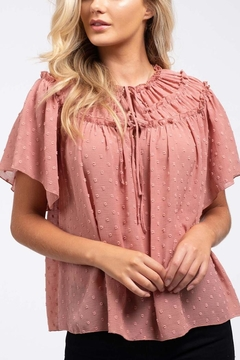 Blu Pepper Blushing Rose Top - Product List Image