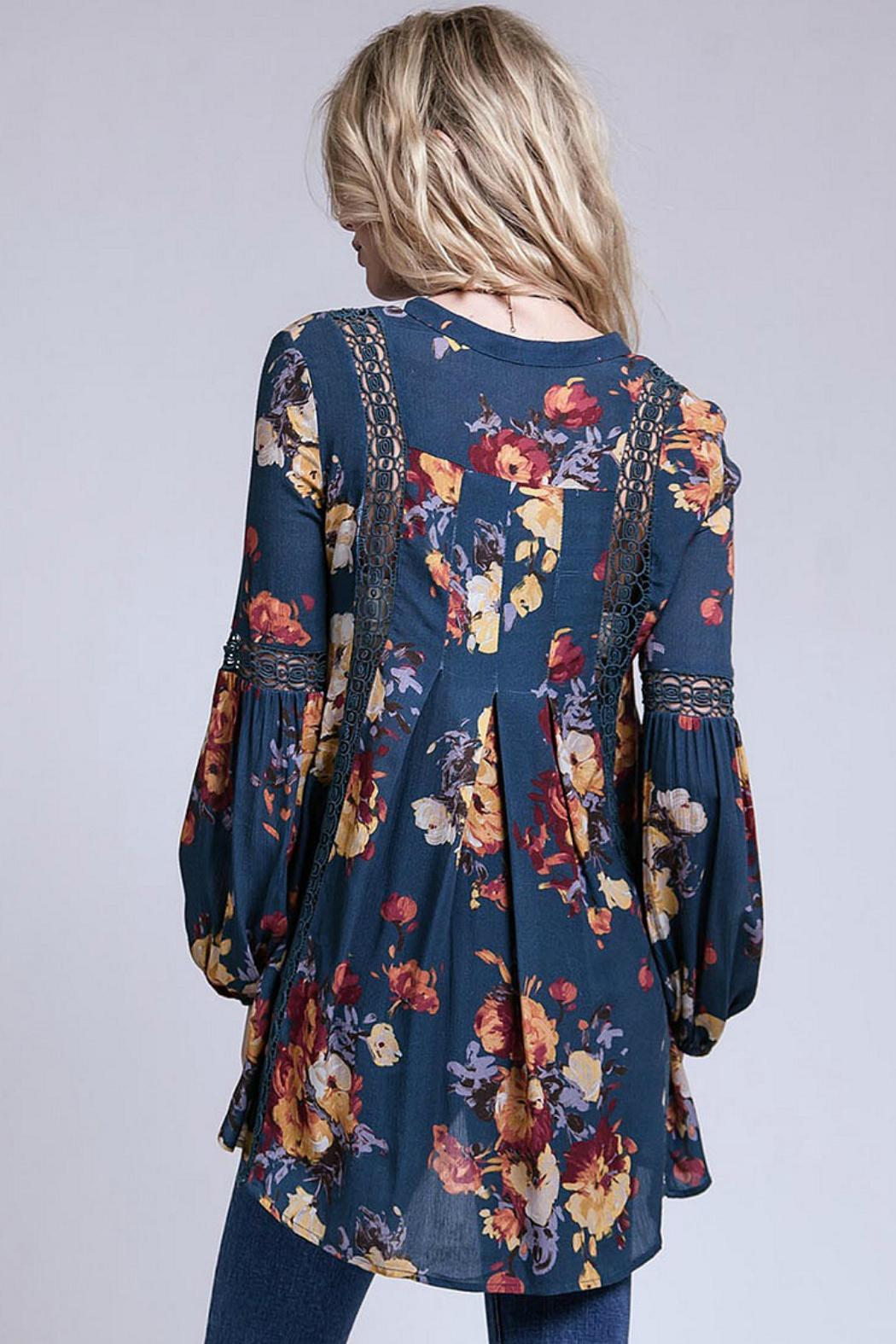 Blu Pepper Boho Floral Top From Colorado By Cali Co