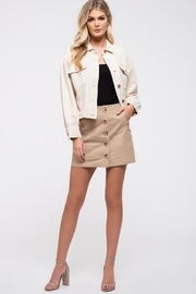 Blu Pepper Button Down Jacket - Product Mini Image