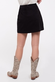 Blu Pepper Button Front Skirt - Side cropped
