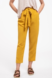 Blu Pepper Buttoned Pants - Product Mini Image