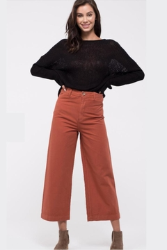 Blu Pepper Cinnamon Cropped-High-Rise Pants - Product List Image