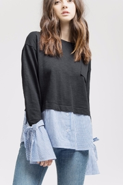 Blu Pepper Comfy Top - Front cropped