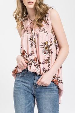Shoptiques Product: Coral Lily Top
