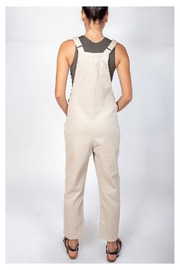 Blu Pepper Corduroy Bear Overalls - Side cropped