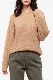 Blu Pepper Crisscross Knit Sweater - Product Mini Image
