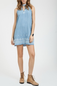 Shoptiques Product: Denim Sleeveless Dress