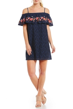 Blu Pepper Embroidered Lace Dress - Alternate List Image