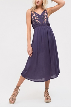 Blu Pepper Embroidered Sleeveless Dress - Product List Image