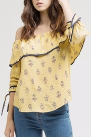Blu Pepper Fall Floral Top - Product Mini Image