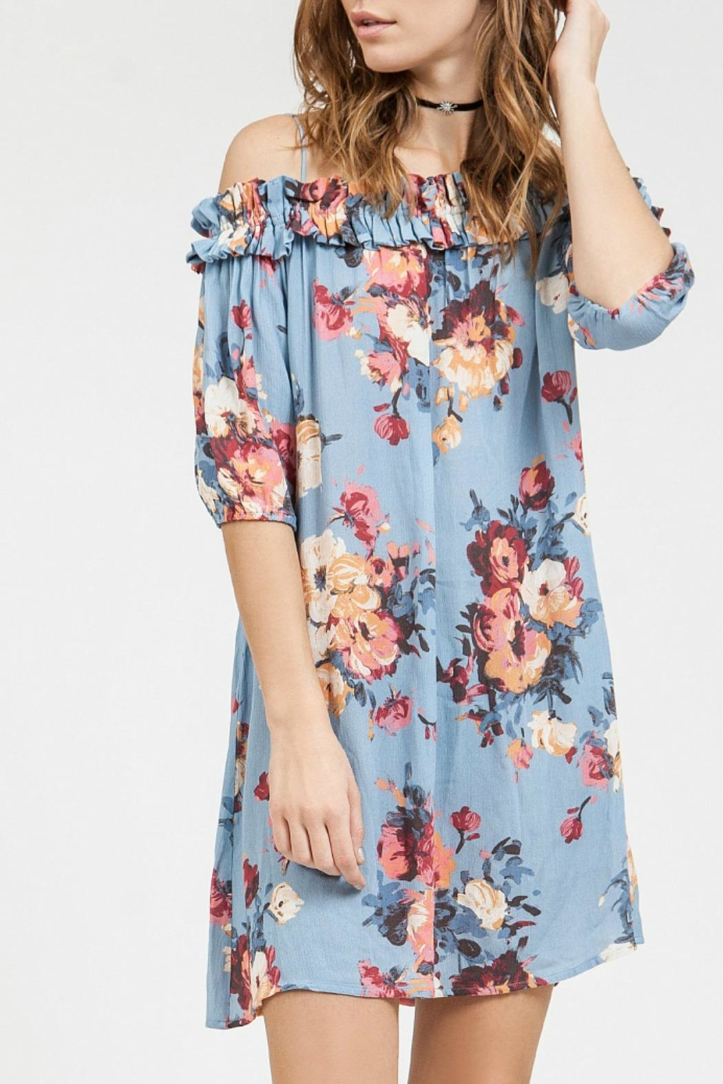 Blu Pepper Floral Off Shoulder Dress From New Jersey By Making Waves