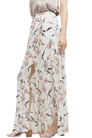 Blu Pepper Floral Maxi Slit Skirt - Side cropped