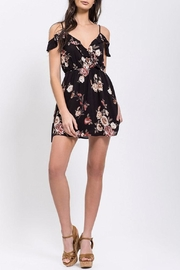 Blu Pepper Floral Ruffle Dress - Front cropped