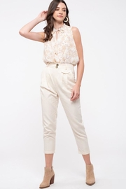 Blu Pepper Floral Story Top - Product Mini Image