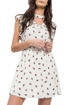 Shoptiques Product: Floral V Neck Dress
