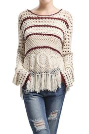 Blu Pepper Fringe Style Long Sleeve - Product Mini Image