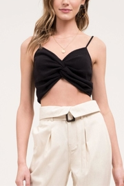 Blu Pepper Front-Twist Cropped Cami - Product Mini Image