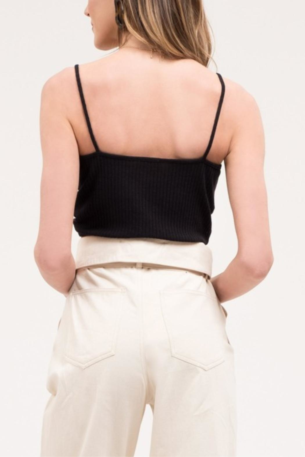 Blu Pepper Front-Twist Cropped Cami - Side Cropped Image