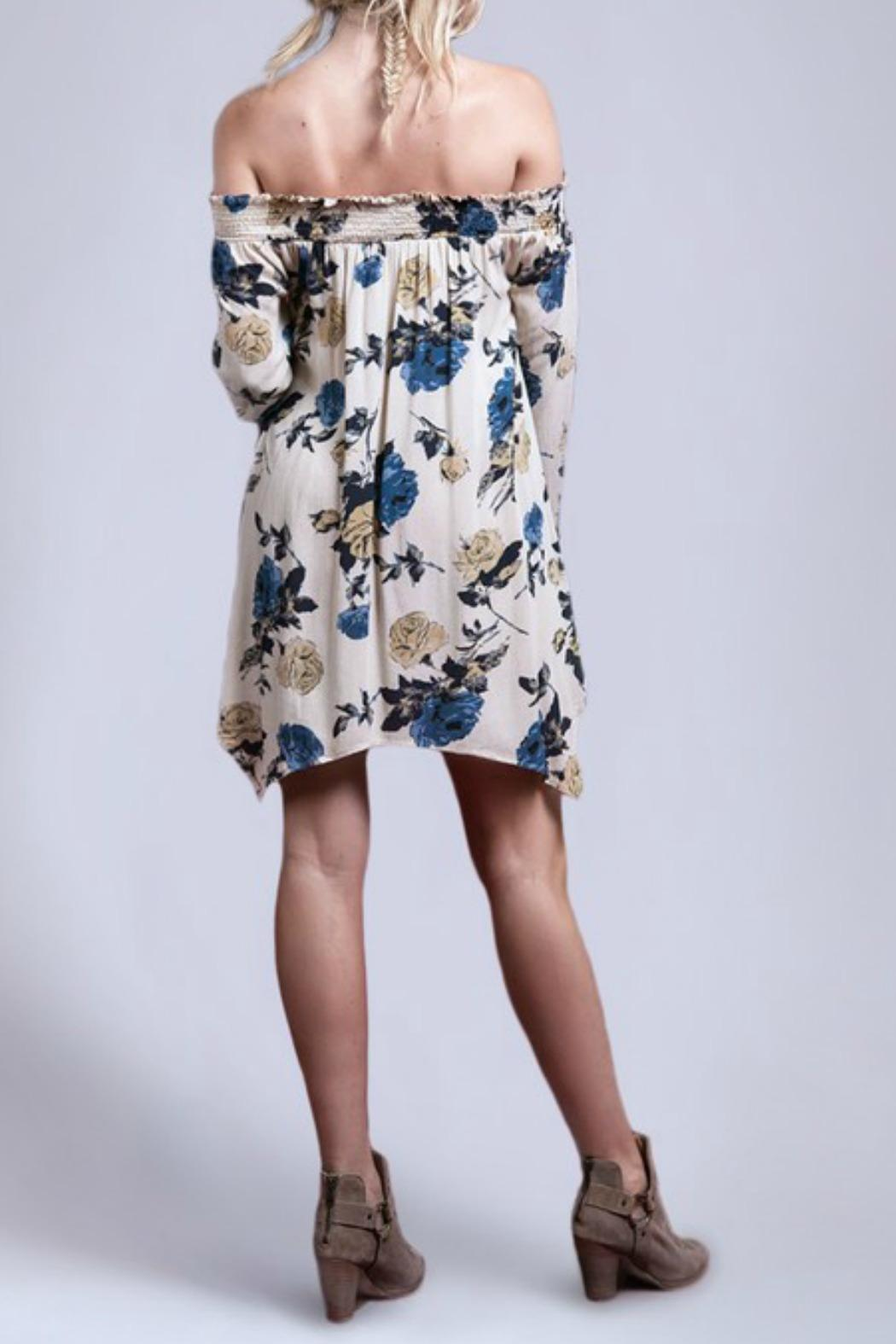 Blu Pepper In Bloom Dress - Front Full Image