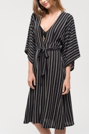 Blu Pepper Kimono-Sleeve Striped Dress - Product Mini Image
