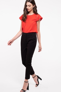 Blu Pepper Mid-Waist Straight Pants - Product List Image