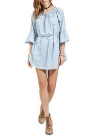 Blu Pepper Off Shoulder Dress - Product Mini Image