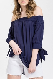 Blu Pepper Off Shoulder Top - Product Mini Image