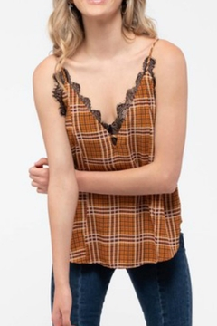 Blu Pepper Plaid Camisole - Product List Image
